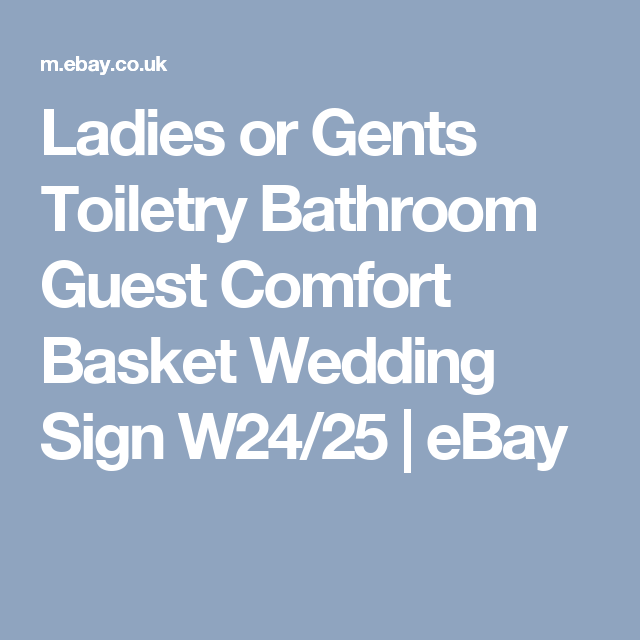 Details About Ladies Or Gents Toiletry Bathroom Guest