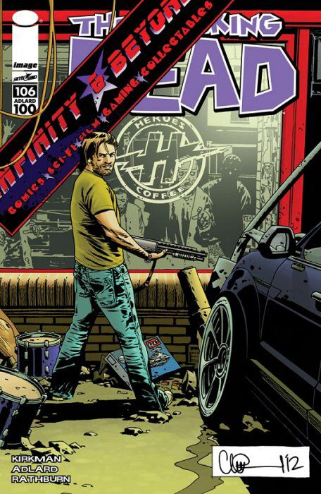 The Walking Dead #106 (Variant C)
