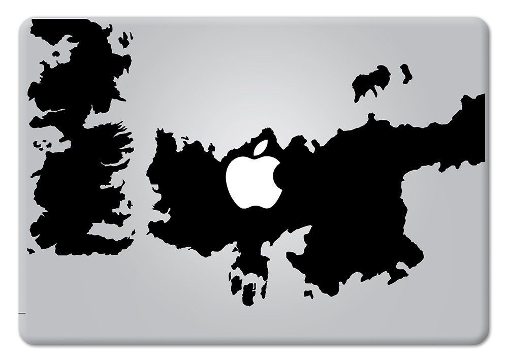 Game of thrones world map macbook decal vinyl sticker apple mac air game of thrones world map macbook decal vinyl sticker apple mac air pro retina laptop sticker gumiabroncs Choice Image