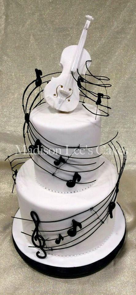 music themed cake by tiquis miquis cakes cupcakes etc pinterest kuchen kuchen ideen und. Black Bedroom Furniture Sets. Home Design Ideas