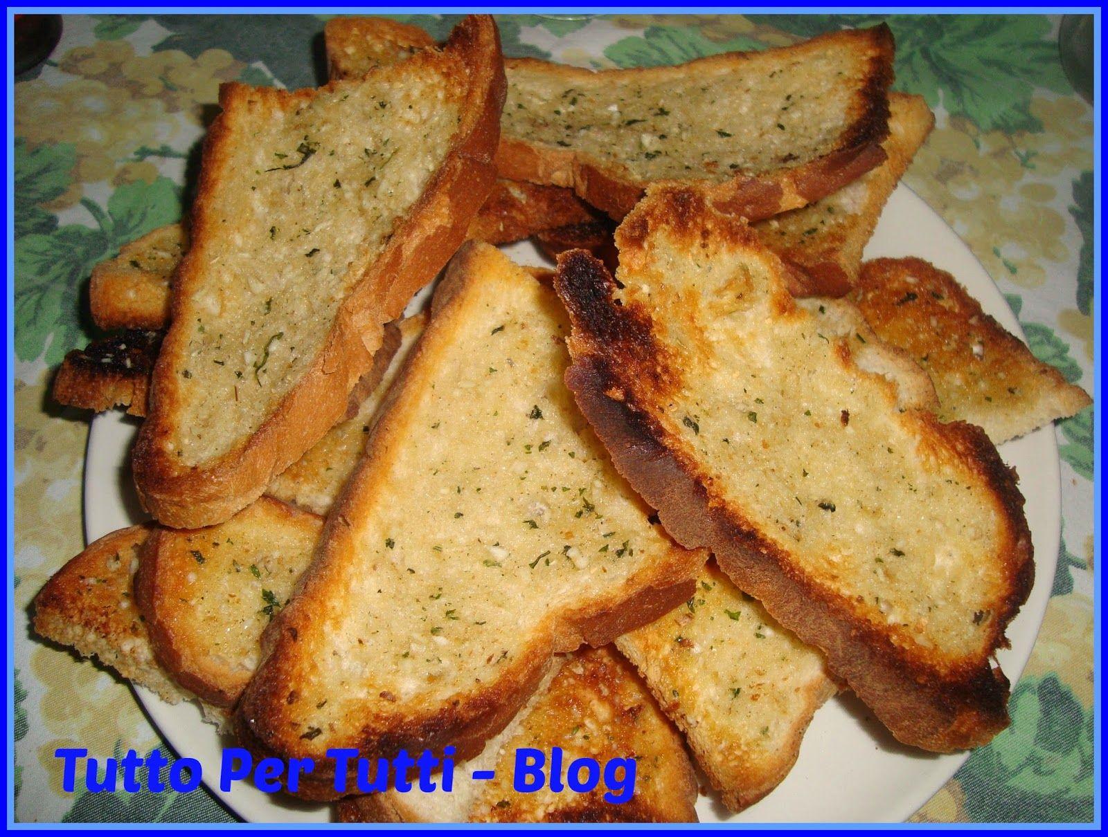 tutto per tutti cucina pane co pane all 39 aglio
