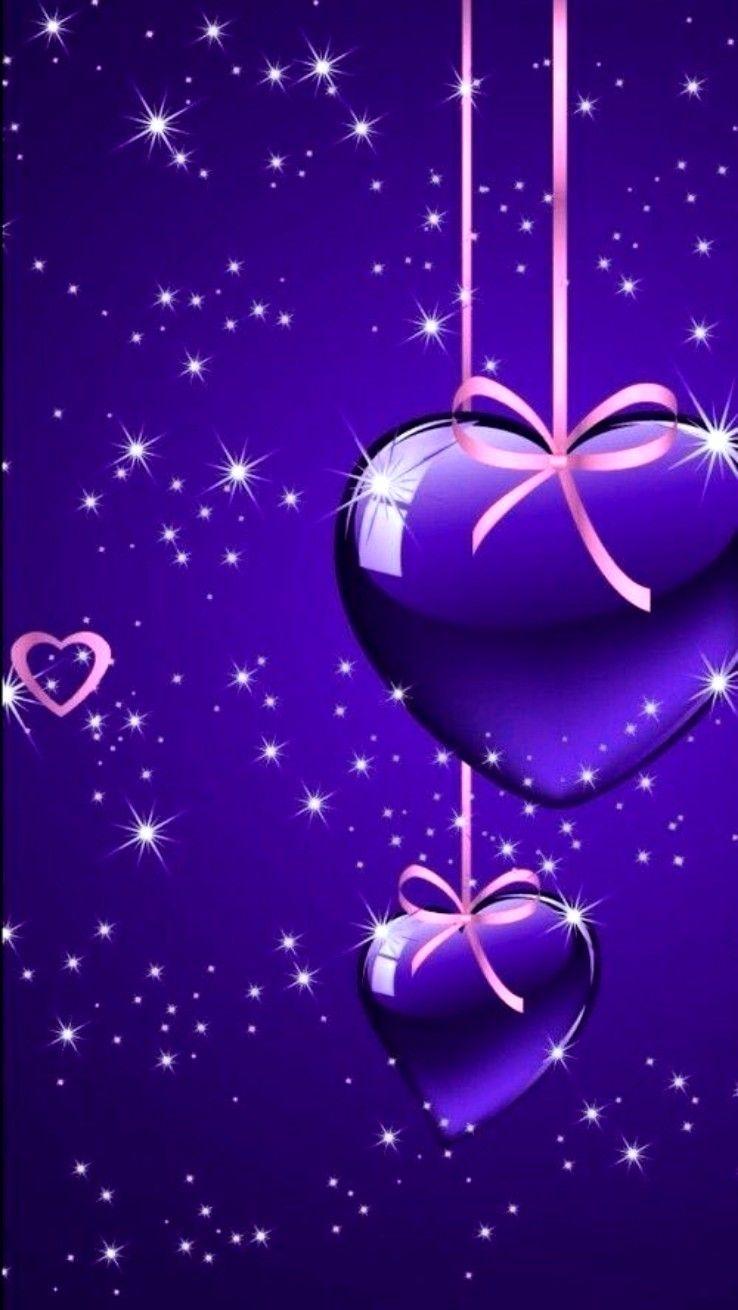 Wallpaper By Artist Unknown Heart Wallpaper Wallpaper Purple Wallpaper