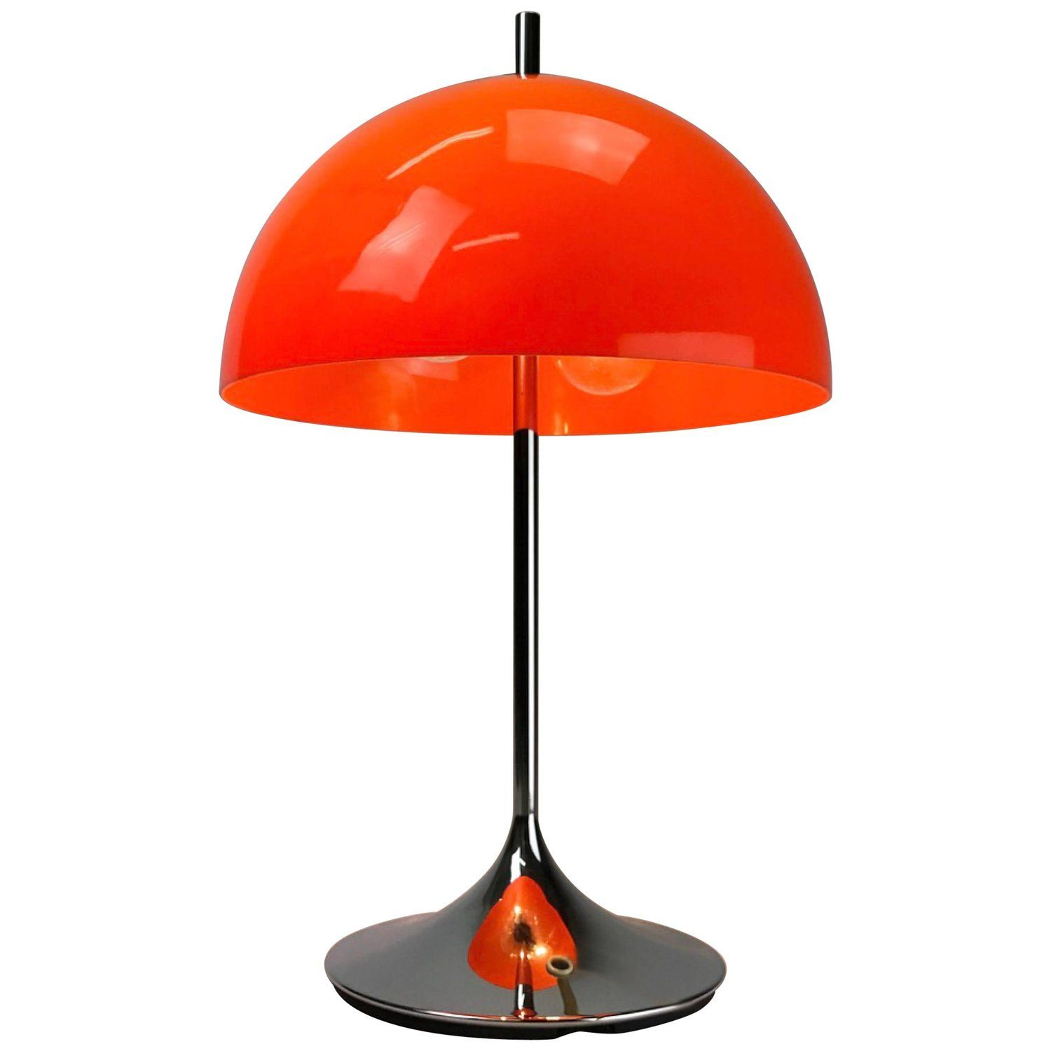 Beautiful German Space Age Table Lamp By Wila Table Lamp Lamp Desk Light