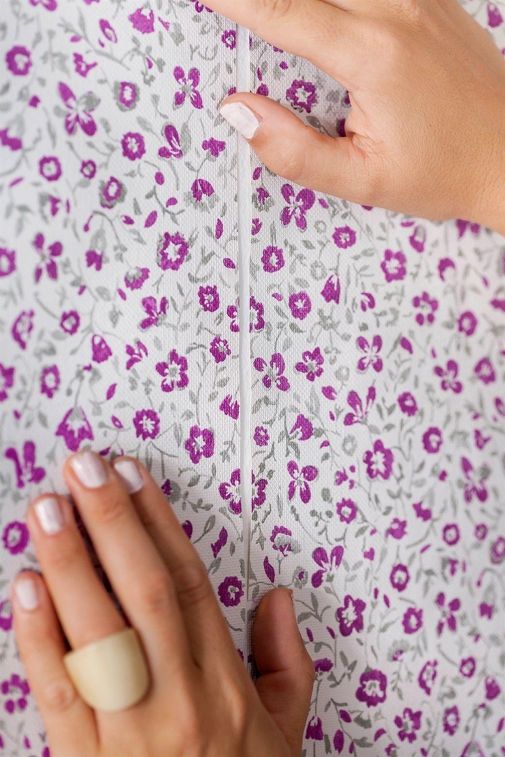 diy tapezieren: tapete selber gestalten und kleben | diy wall art