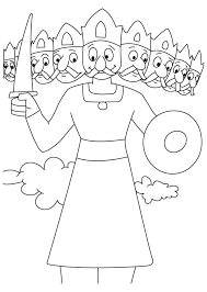 Image result for ravan kumbhkaran sketches for kids