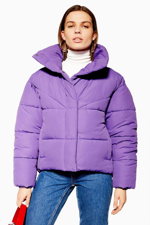Wrap Puffer Jacket Topshop Usa Puffer Jacket Outfit Puffer Jackets Jackets [ 1530 x 1020 Pixel ]