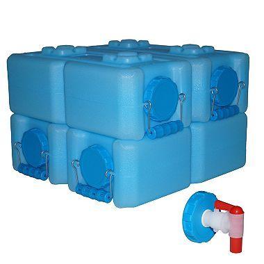Waterbrick Storage Container 3 5 Gallon 4 Pk Sam S Club Water Storage Storage Containers Emergency Water