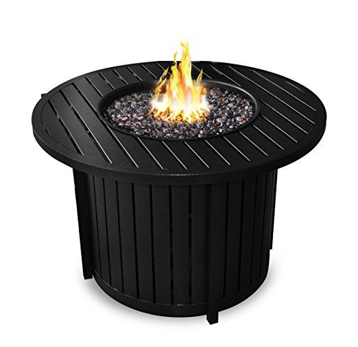 Sunbeam Aluminum 36 Round Fire Pit Fire Table Round Fire Pit Aluminum