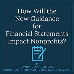 new guidance for nonprofit financial statements nonprofit 501c6