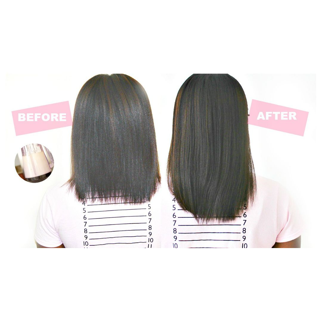 Grow Two Inches Of Hair In Just One Week Black Hair Growth Hair Growth Diy Hair Growth Serum Diy