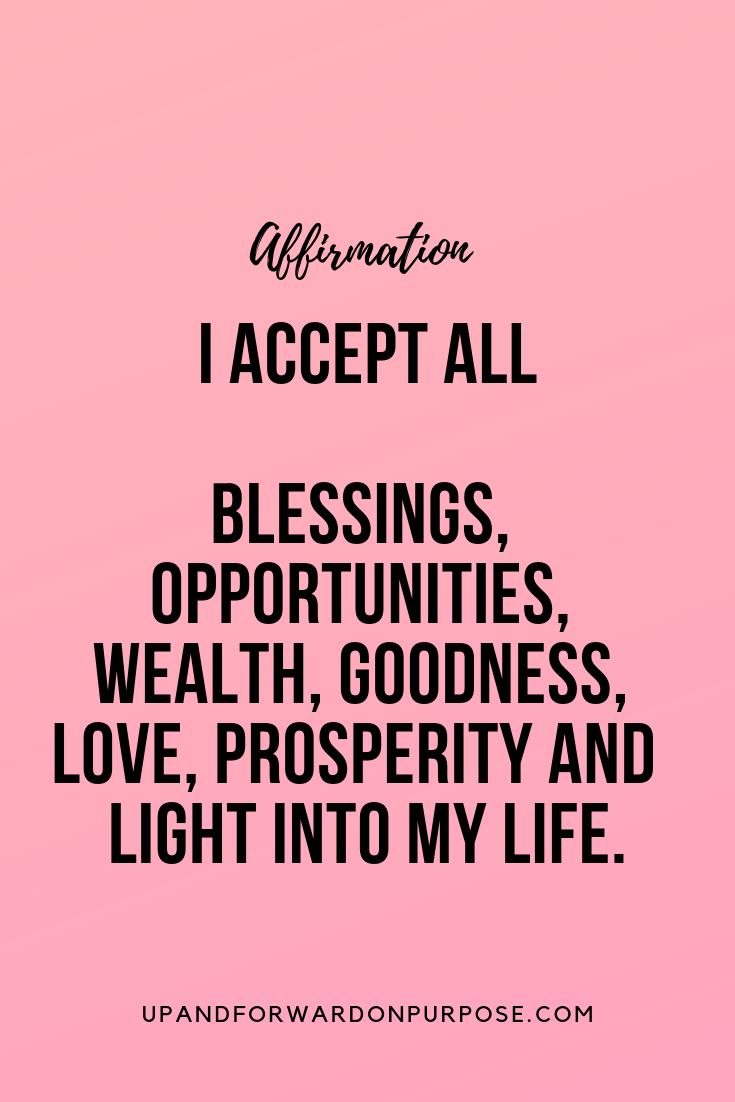 Positive Affirmation | Positive affirmations quotes, Affirmation ...