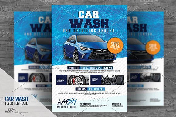1597 best Flyer \ Brochure Designs - PSD \ AI images on Pinterest - car wash flyer template