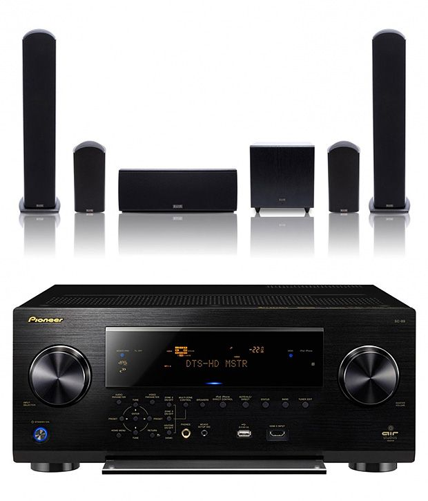 Home Sound System Design: PIONEER Dolby Atmos System