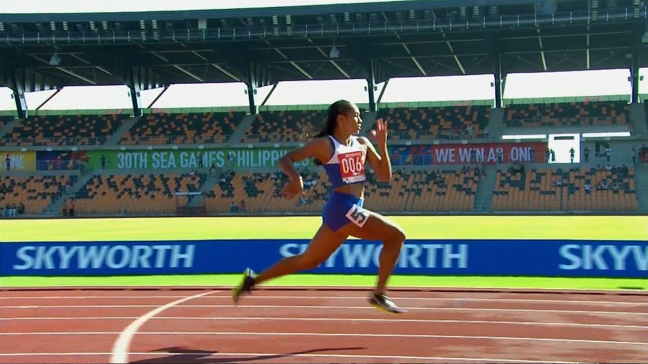 Amazing Kristina Knott Wipes Out Lydia De Vega Famous 100m Video Pinoyathletics Info In 2020 World Athletics Heptathlon National Games