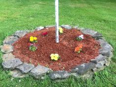 1000 Ideas About Flag Pole Landscaping On Pinterest Flag Poles