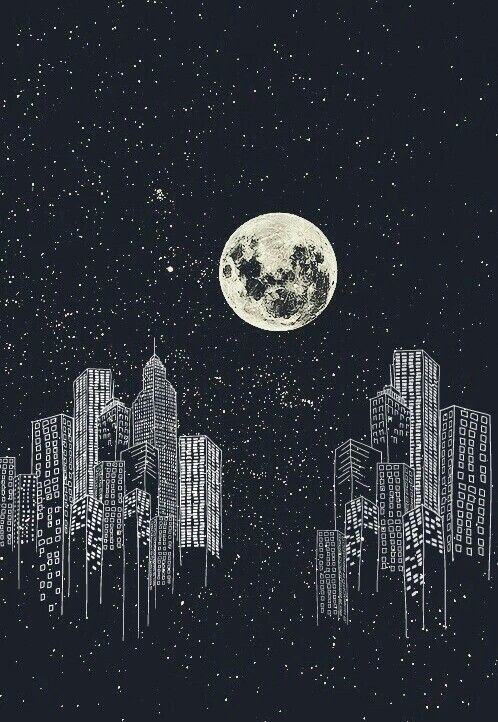 Download the Good of Black Wallpaper Moon for iPhone 11 Pro 2020 from weheartit.com