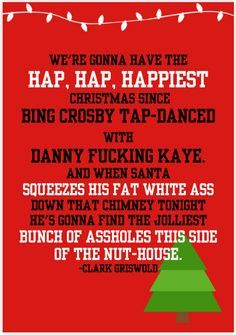 National Lampoon's Christmas Vacation quote | Magic and Tragic ...