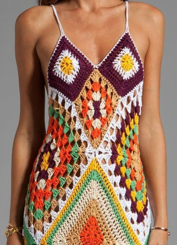 Crochet Beach Dress, Crochet Maxi Dress, Crochet Dress, Knitted Dress, Bohemian Dress, Hippie Dress,Crochet Clothing,Lace Crochet,Knit Dress #crochetbeachdress