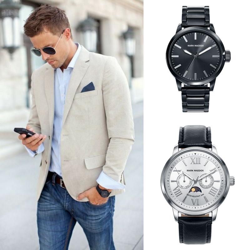 Reloj Para Hombre De Mark Maddox Disponemos De Diferentes Modeles Para Tu Mejor Look Moda Hombre Ropa Casual Hombres Moda Ropa Hombre