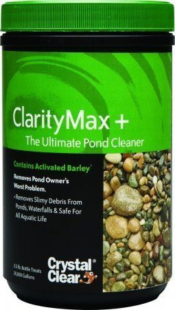 Crystal Clear Clarity Max Plus 2 5 Lbs By Winston 39 99 Cleans Ponds Breaking Down Organic Materials That Create Problems For Pond Hobbyists In And