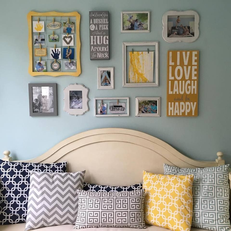 25 Wonderful And Striking Diy Photo Collage Ideas To Wall Decor Bedroom Wall Decor Living Room Frame Wall Collage