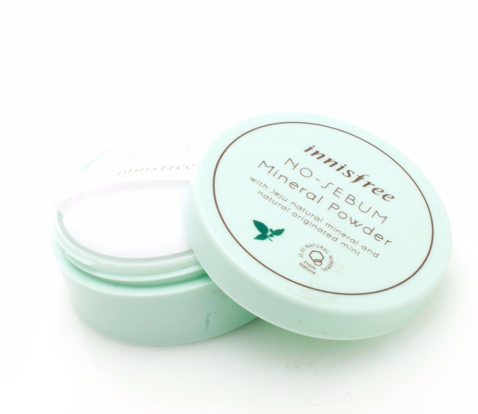 Innisfree No Sebum Mineral Powder 5G For Oily Skin Korean Cosmetics