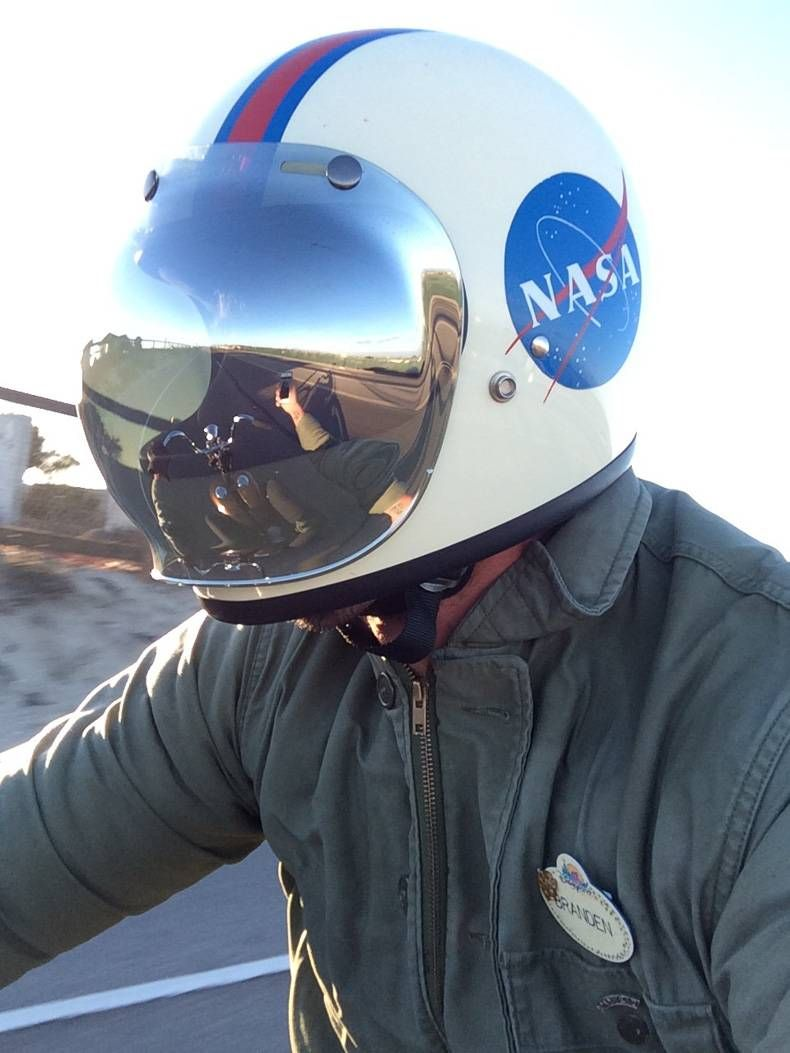 Bell Full Face Helmet >> I want that helmet, is someone can find it - NASA ...