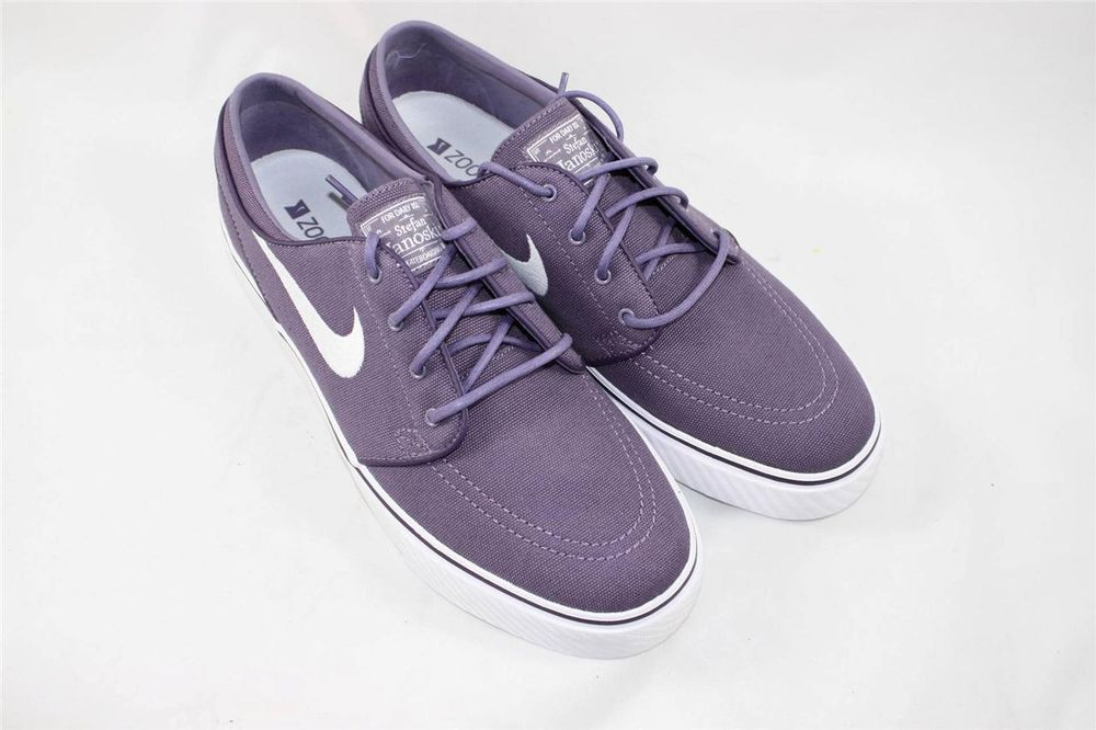 1285859eb06a Brand New Nike Zoom Stefan Janoski Size 9.5 Canyon Purple White 333824 515   Nike  AthleticSneakers