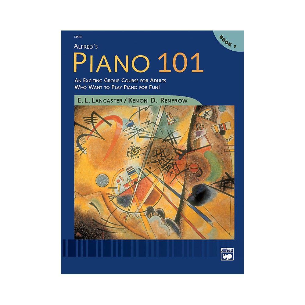 Alfred alfreds piano 101 book 1 in 2020 piano classes
