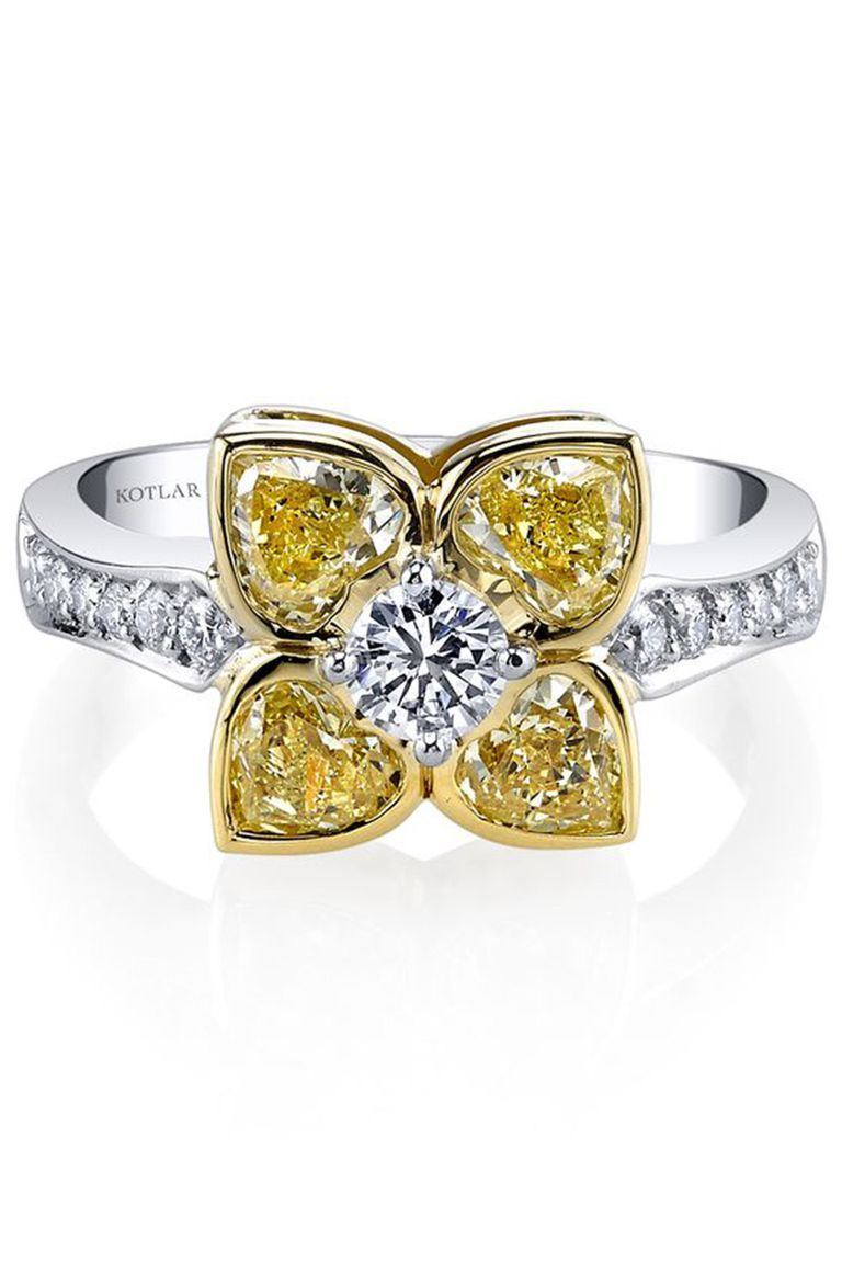 Alternative engagement rings for the nontraditional bride