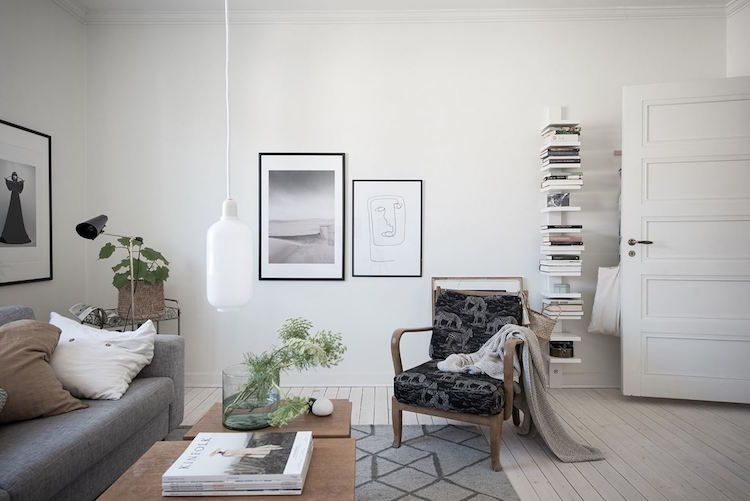 my scandinavian home: Styling a small space, the Swedish way