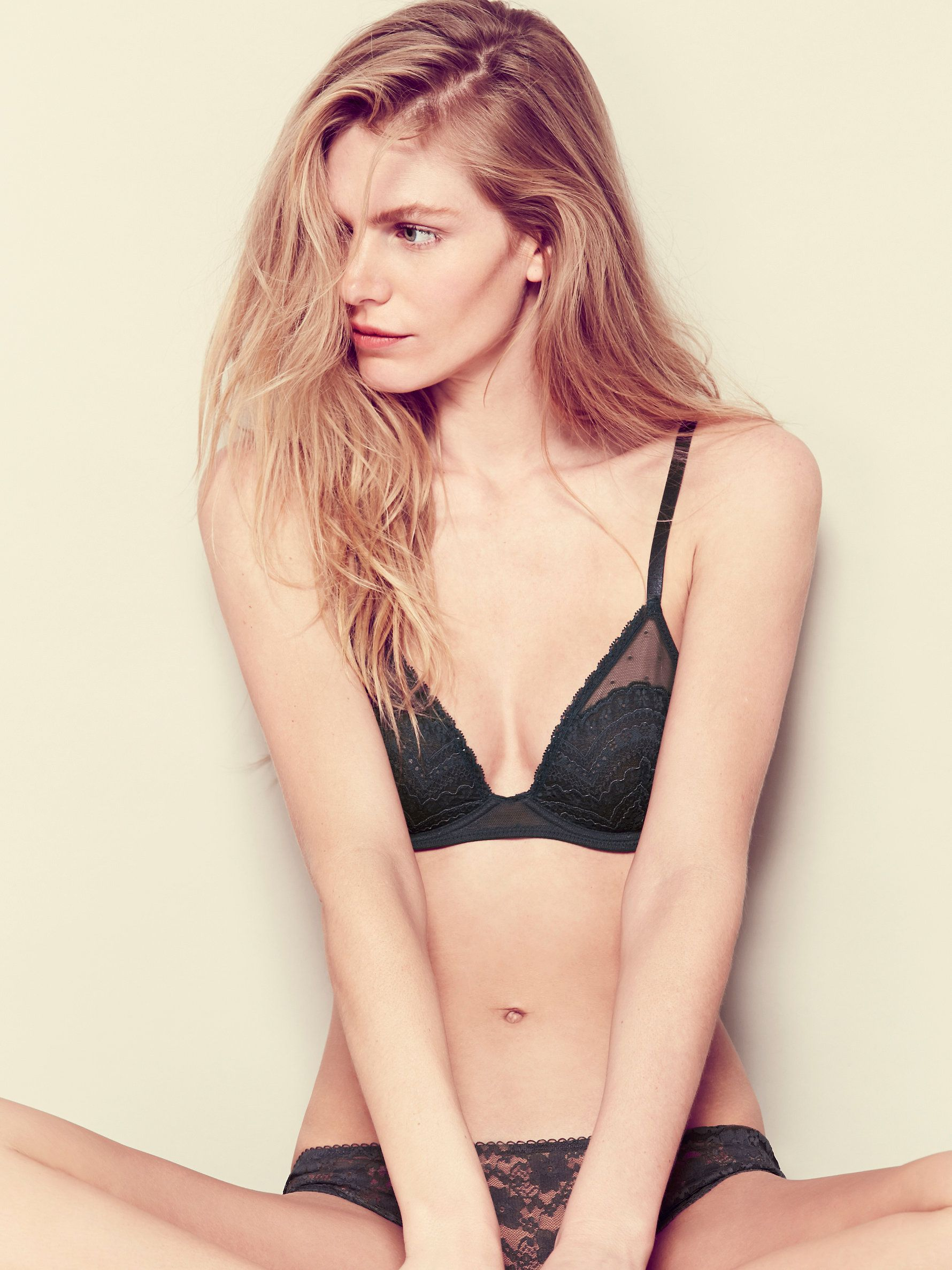 Free People Lace Triangle Bra 3a09b4d09
