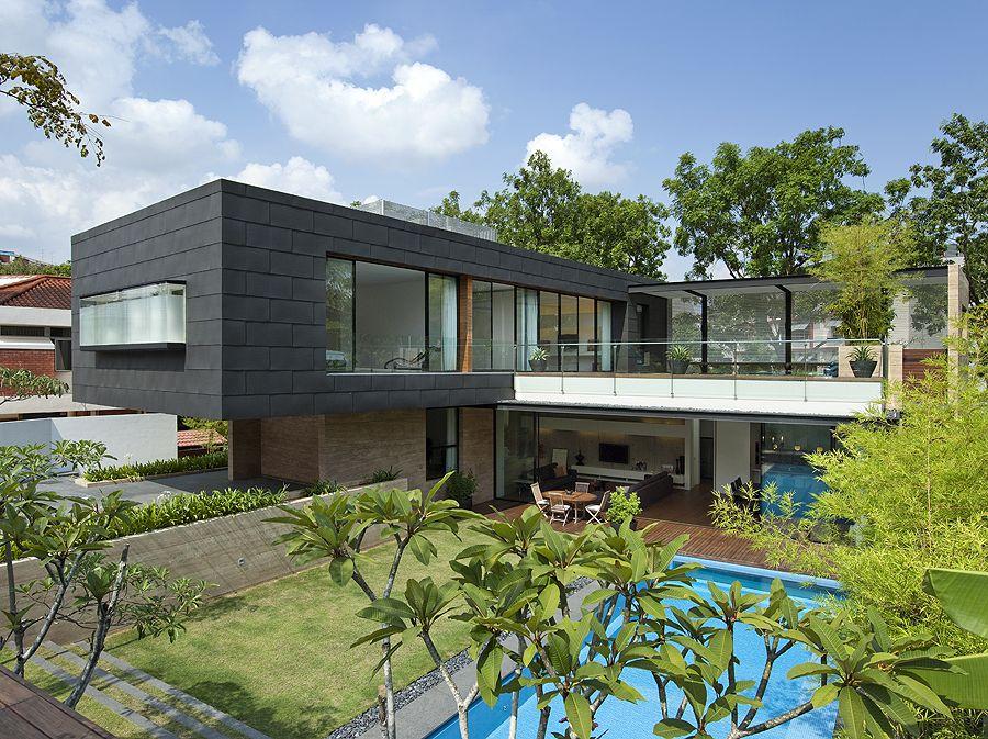 Casa 45 Faber Park - Ong & Ong, Arquitectura, diseño, casas ...