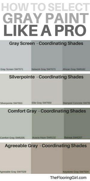 What Are The Most Popular Shades Of Gray Paint Shades