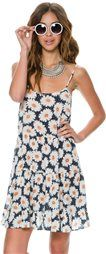 SWELL BEE HIVE DAISY PRINT BABY DOLL DRESS > Womens > Featured | Swell.com