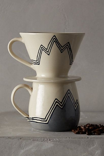 Pour Over Coffee Mug Anthropologie Anthrofave