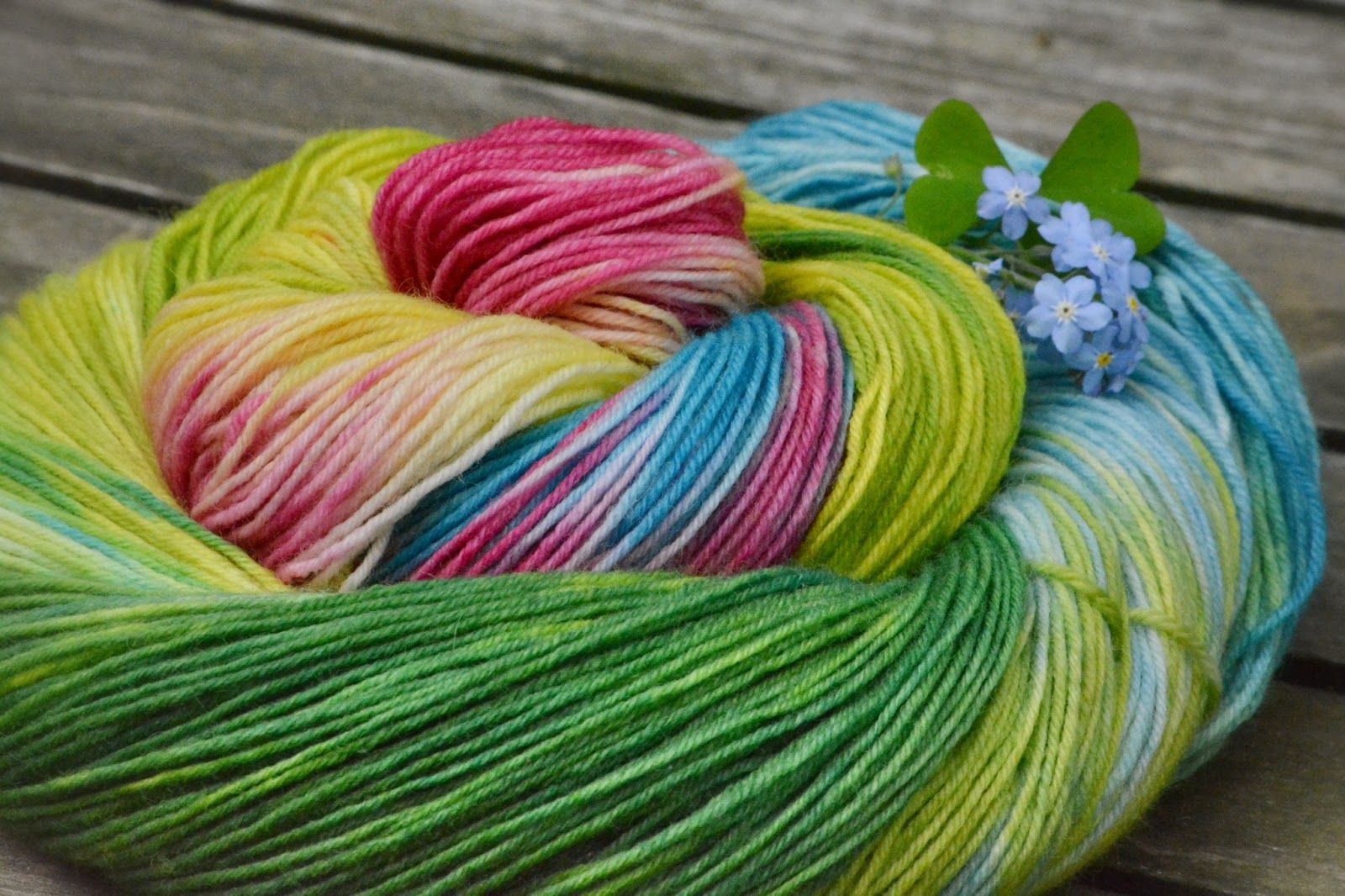 Olann: sock-yarn hand-dyed