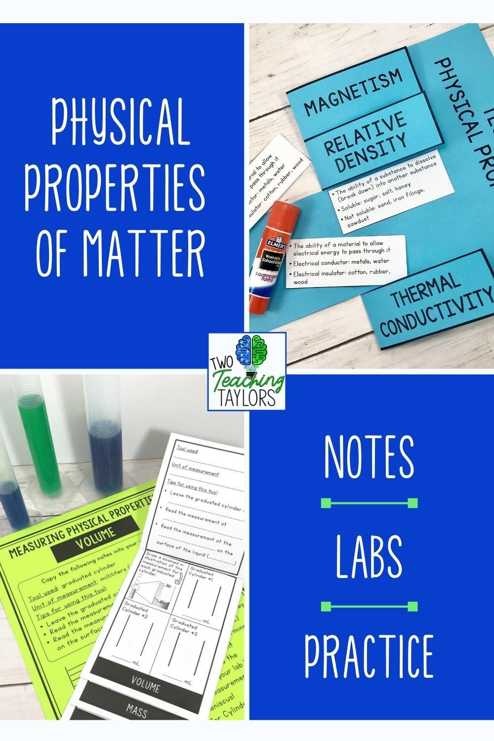 Physical Properties Of Matter Activities Bundle Physical Properties Of Matter Matter Activities Elementary Science