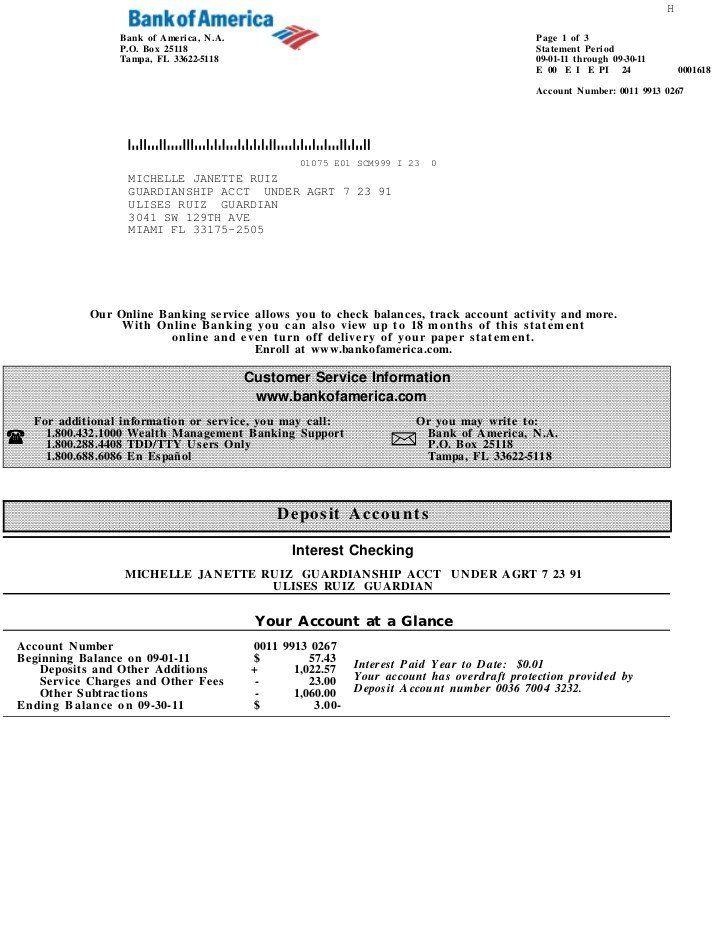 Fake bank statement generator fake bank america statement