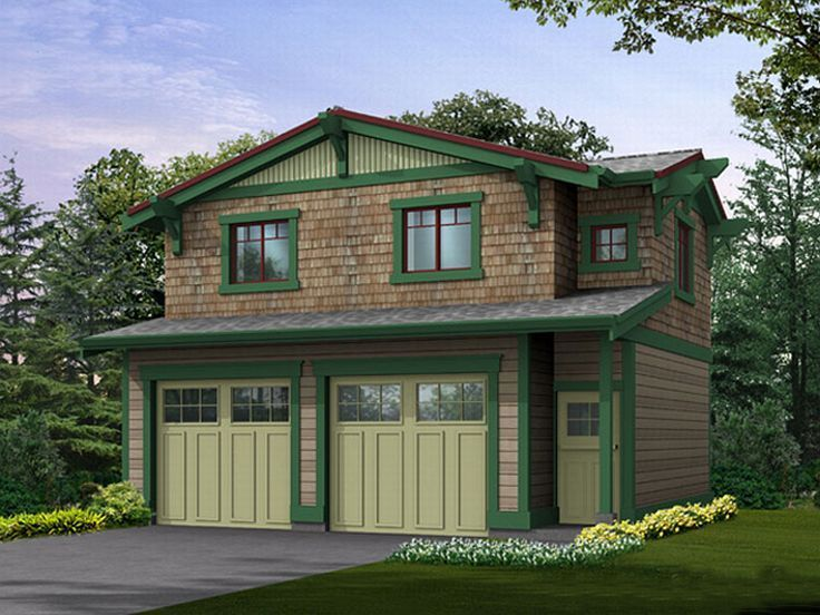 2Car Garage Apartment, 035G0002 Carriage house plans