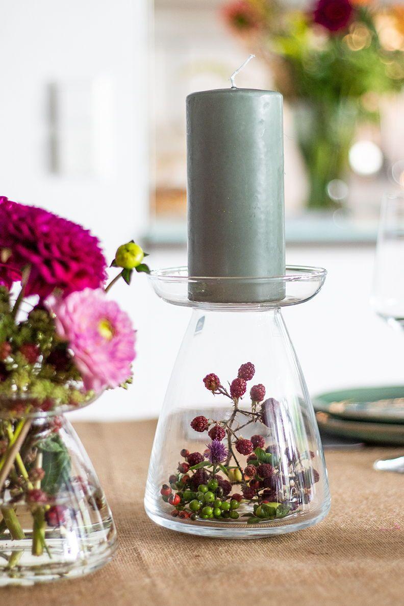Herbstdeko für die goldene Jahreszeit: Tischdeko und DIY #herbsttischdekorationen