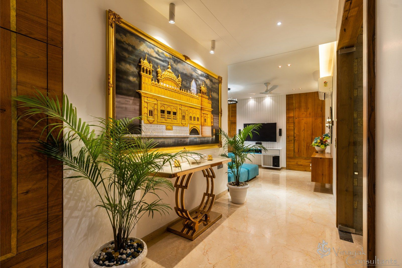 Bungalow Interior A Transformation From Dull To Bright Vinayak