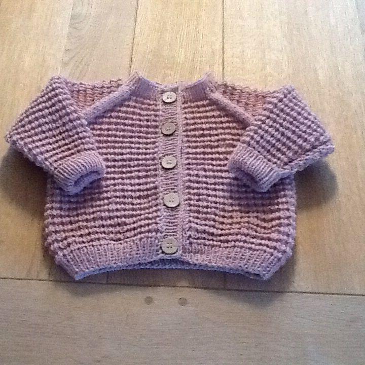 Babytrøje i uld