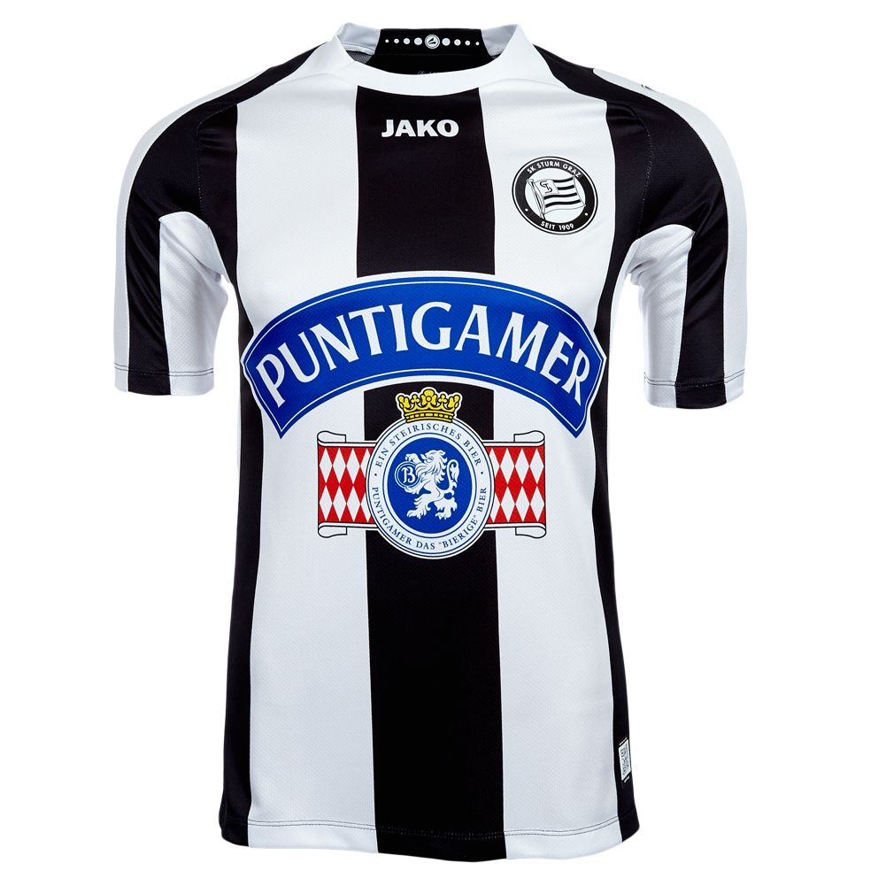 fd652771fd786 SK Sturm Graz (Austria) - 2013 2014 Jako Home Shirt