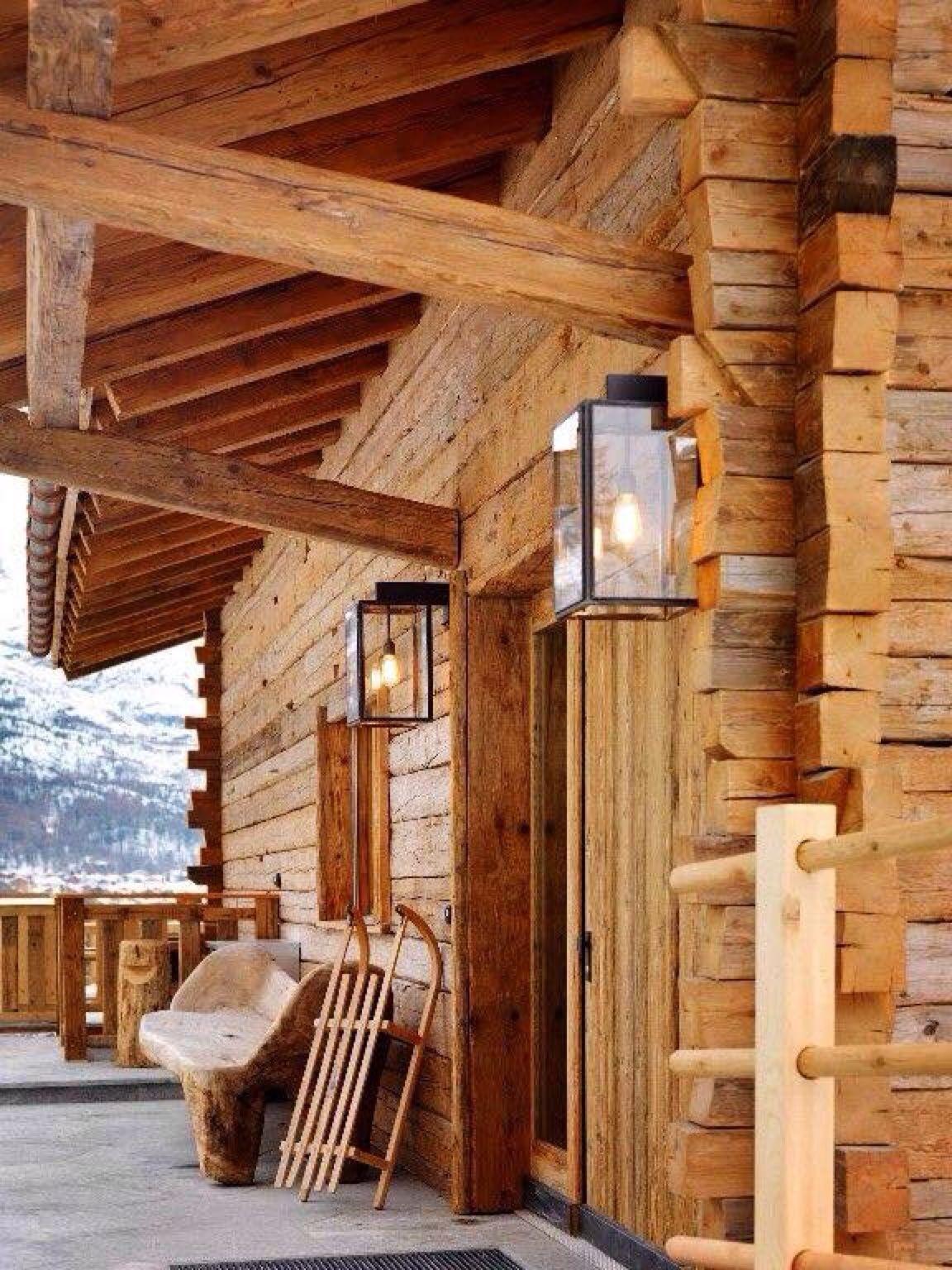 Moment\'s …   Haus und wohnen, Rustikale hütten und Chalet design