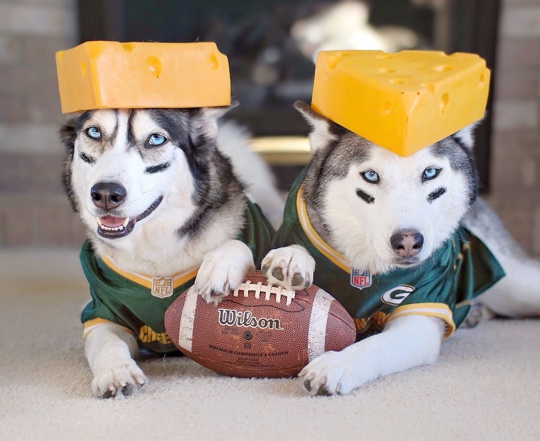 Are You Ready For Some Football Two Cheeseheads Here Ready To