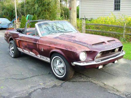 1967 Ford Mustang Convertible Shelby Gt500kr Project Car Make Offer Mustang Shelby Ford Mustang Ford Mustang Shelby Gt500