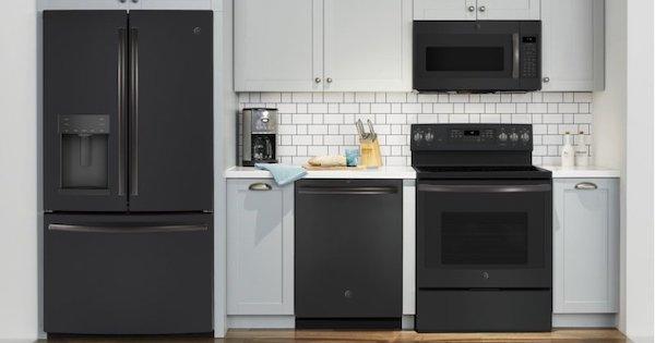 Ge Black Slate Appliances 2021 Reviews Slate Appliances Slate Appliances Kitchen Black Appliances Kitchen