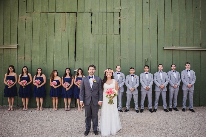 Wedding-Party-.jpg (690×460) | Navy Girls Grey Guys | Pinterest ...