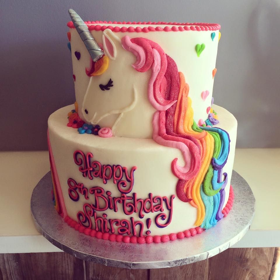 HayleyCakes and Cookies , unicorn cake